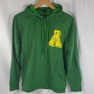 Adidas Green/Yellow Ultimate Hoodie Sweatshirt